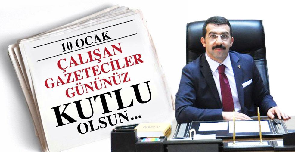 Adem Çalkın'ın 10 Ocak Gazeteciler günü mesajı