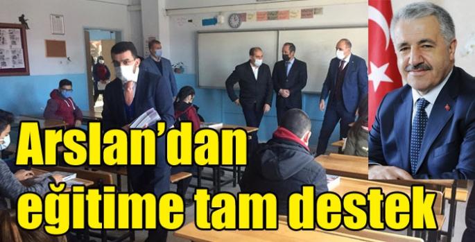 Ahmet Arslan'dan Sınava Girecek 6 Bin Öğrenciye Tam Destek