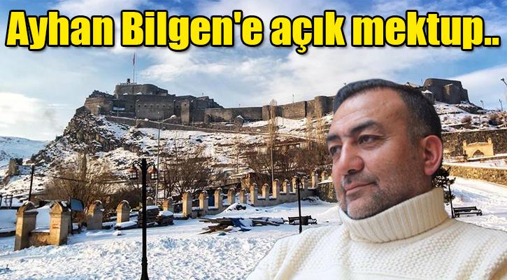 Alibeyoğlu'ndan, Ayhan Bilgen'e açık mektup
