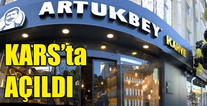 Artukbey Kahve Kars'ta açıldı