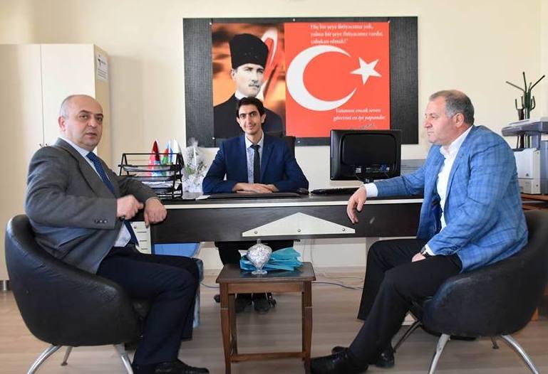 ASİMDER Başkanı Gülbey, Okul Müdürü Yeşil'i Ziyaret Etti