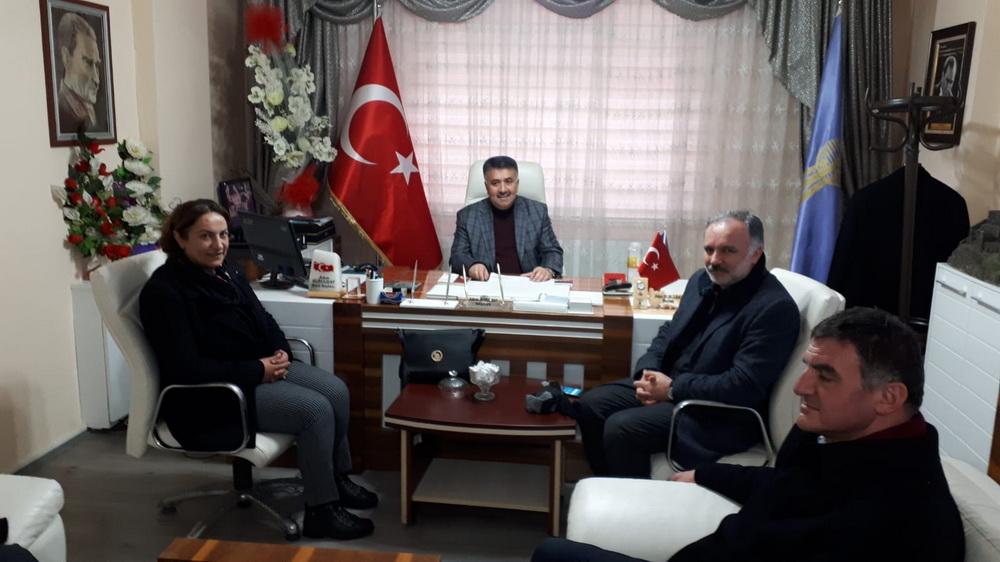 Ayhan Bilgen'den Burulday'a ziyaret