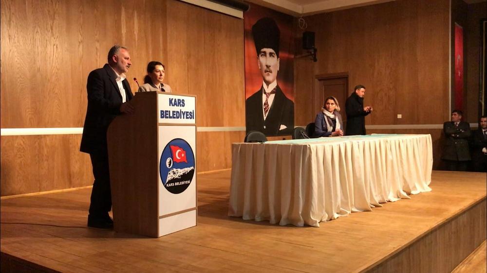 Ayhan Bilgen'in Belediye Personeliyle İlk Buluşması