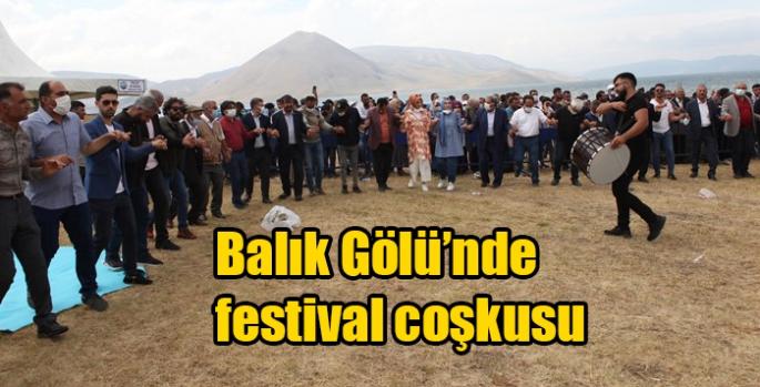 Balık Gölü'nde festival coşkusu