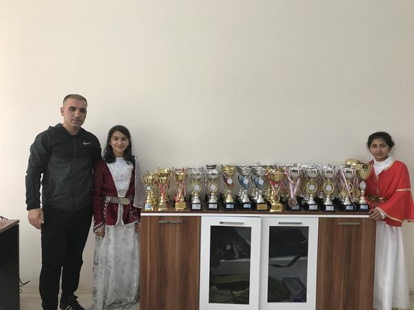 Cevriye Tatış Ortaokulu İki Yılda 54 Kupa Aldı