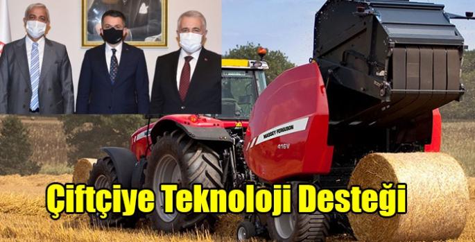 Çiftçiye Teknoloji Desteği