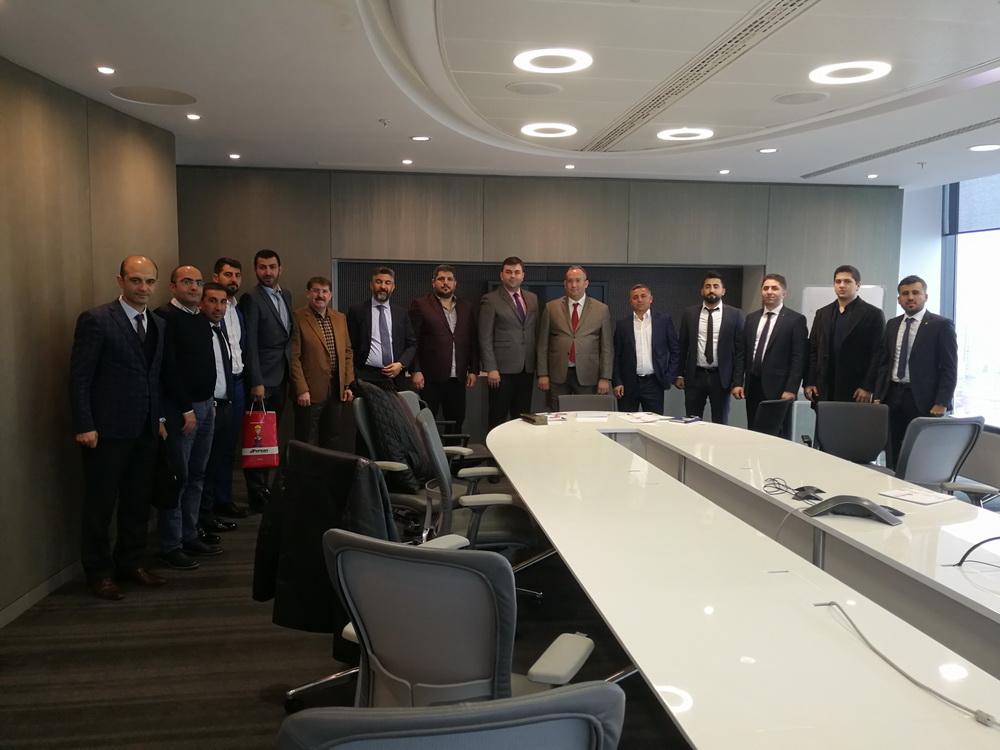 DAİB Yönetim Kurulu Başkanı Cemal Şengel: İpekyolu Projeksiyonu