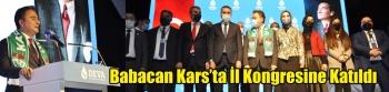 DEVA Partisi Genel Başkanı Ali Babacan Kars Kongresine katıldı