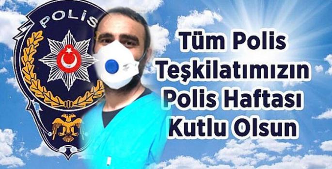 Dr. Gökhan Perincek'in Polis Haftası mesajı