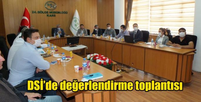 DSİ'de değerlendirme toplantısı