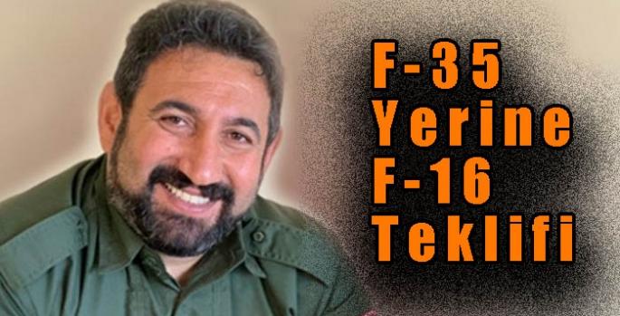 F-35 Yerine F-16 Teklifi