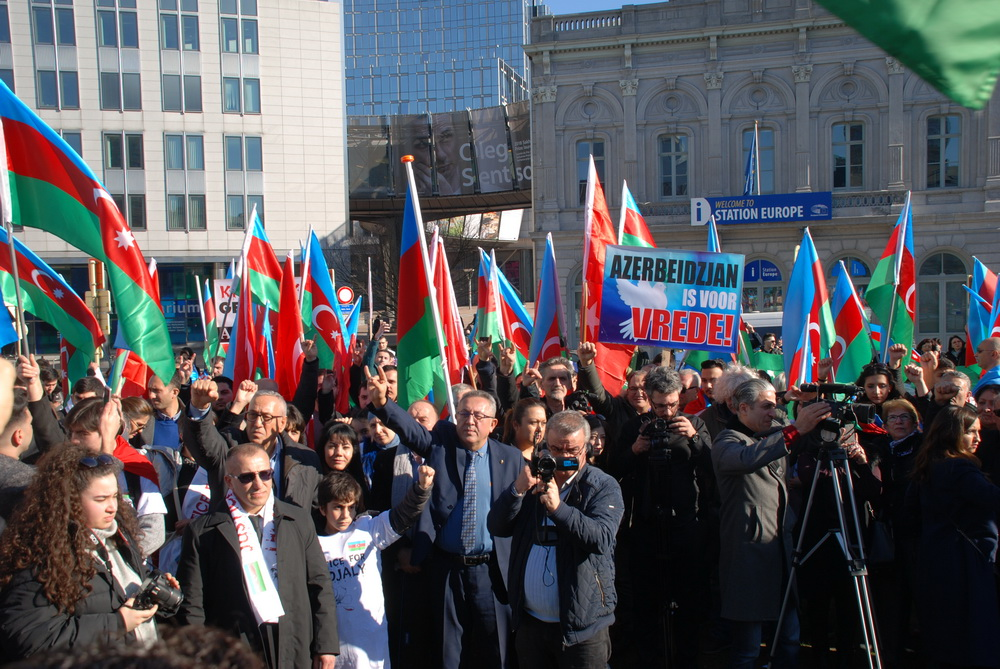 Hocalı Kurbanları Brüksel'de Anıldı