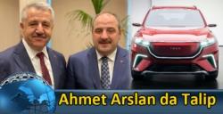 Ahmet Arslan da Yerli Otomobilin 36. Sırasına Talip