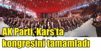 AK Parti, Kars'ta kongresini tamamladı