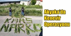 Akyaka'da Kenevir Operasyonu