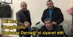 Ali Rıza Hoşgönüllü Dolunay Derneği'ni ziyaret etti