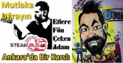 Ankara'da Etlere Fön Çeken Adam Karslı