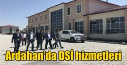 Ardahan'da DSİ hizmetleri