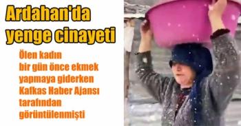 Ardahan'da yenge cinayeti