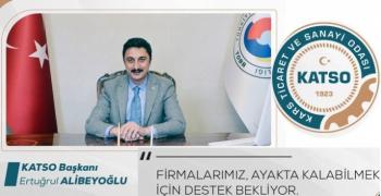 Başkan Alibeyoğlu'ndan destek çağrısı