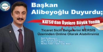 Başkan Alibeyoğlu'u Duyurdu