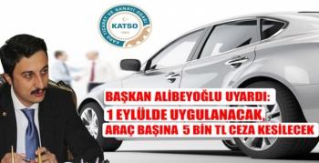 Başkan Alibeyoğlu Uyardı