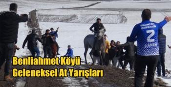 Benliahmet Köyü Geleneksel At Yarışları