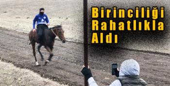 Benliahmet köyünde at yarışı