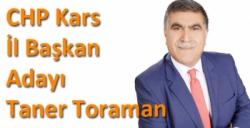 CHP Kars İl Başkan Adayı Taner Toraman