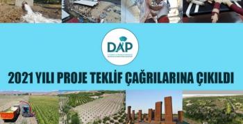 DAP'ın 2021 Yılı Proje Teklif Çağrısı