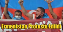 Iğdır'da Ermenistan Protesto Edildi