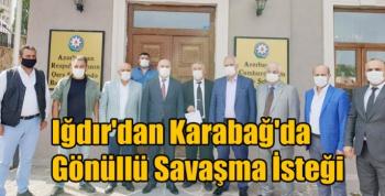Iğdır'dan Karabağ'da Gönüllü Savaşma İsteği