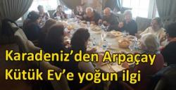 Karadeniz'den Arpaçay Kütük Ev'e yoğun ilgi