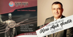 KARPAT 2. Uluslararası Kars Aşık Şenlik Festivali Düzenliyor