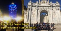Kars Çelik Başarı Koleji öğrencilerinin İstanbul Gezisi
