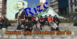 Kars Cevriye Tatış Ortaokulu Rize'de