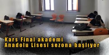 Kars Final akademi Anadolu Lisesi sezona başlıyor