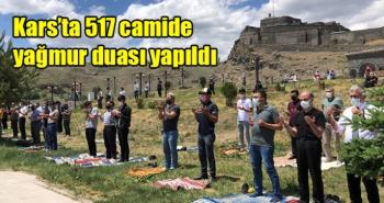 Kars'ta 517 camide yağmur duası yapıldı