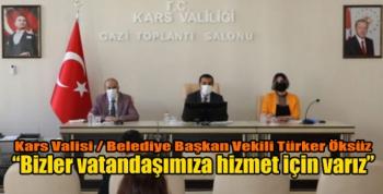 Kars'ta İl İdare Şube Başkanları toplantısı yapıldı