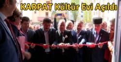 Kars'ta KARPAT Kültür Evi Açıldı