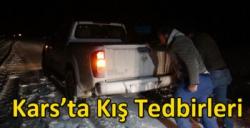 Kars'ta Kış Tedbirleri