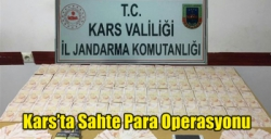 Kars'ta Sahte Para Operasyonu