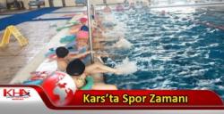 Kars'ta Spor Zamanı