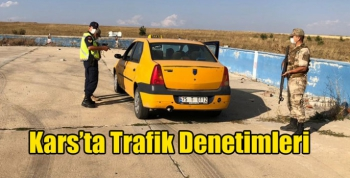 Kars'ta Trafik Denetimleri