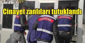 Kars'ta yakalanan cinayet zanlıları tutuklandı