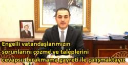 Kars Valisi Türker Öksüz'ün Dünya Engelliler Günü Mesajı