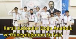 Karslı Judocular Doğu Anadolu ve Güneydoğunun En İyisi