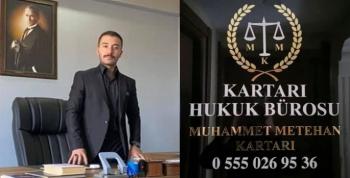 Kartarı Hukuk Bürosu açıldı