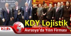 KDY Lojistik, Avrasya'da Yılın Firması