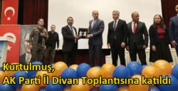 Kurtulmuş, AK Parti İl Divan Toplantısına katıldı